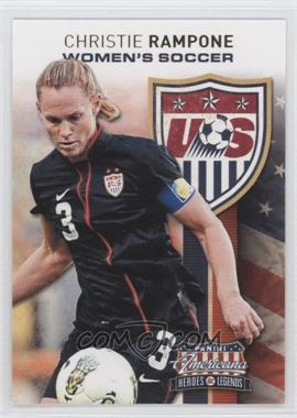 2012 Panini Americana Heroes & Legends - US Women's Soccer Team #8 - Christie Rampone