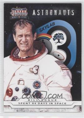 2012 Panini Americana Heroes & Legends Astronauts #4 - Bill Pogue