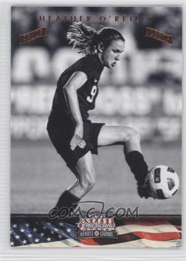 2012 Panini Americana Heroes & Legends Bronze Proof #96 - Heather O'Reilly /100