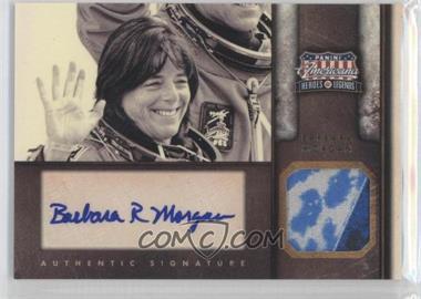 2012 Panini Americana Heroes & Legends Elite Materials Signatures [Autographed] [Memorabilia] #57 - Barbara Morgan /29