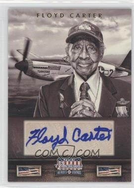 2012 Panini Americana Heroes & Legends Elite Signatures [Autographed] #104 - Floyd Carter /151