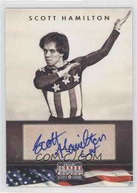 2012 Panini Americana Heroes & Legends Elite Signatures [Autographed] #112 - Scott Hamilton /299