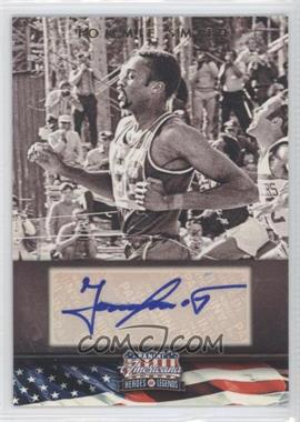 2012 Panini Americana Heroes & Legends Elite Signatures [Autographed] #121 - Tommie Smith /399