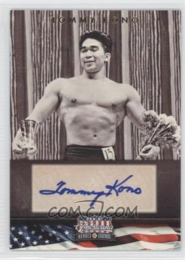 2012 Panini Americana Heroes & Legends Elite Signatures [Autographed] #122 - Tommy Kono /302
