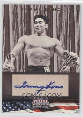 2012 Panini Americana Heroes & Legends Elite Signatures [Autographed] #122 - Tommy Kono /302