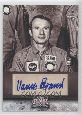 2012 Panini Americana Heroes & Legends Elite Signatures [Autographed] #123 - Vance Brand /59
