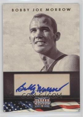 2012 Panini Americana Heroes & Legends Elite Signatures [Autographed] #125 - Bobby Joe Morrow /399