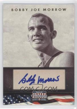 2012 Panini Americana Heroes & Legends Elite Signatures [Autographed] #125 - Bobby Joe Morrow /399