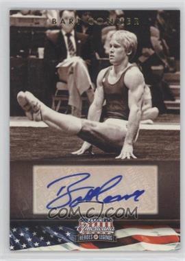 2012 Panini Americana Heroes & Legends Elite Signatures [Autographed] #58 - Bart Conner /358