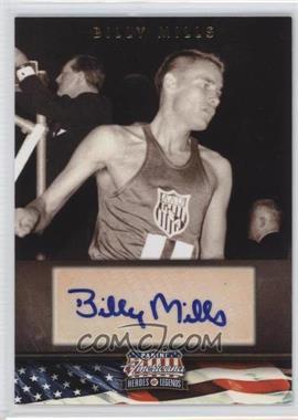 2012 Panini Americana Heroes & Legends Elite Signatures [Autographed] #61 - Billy Mills /399