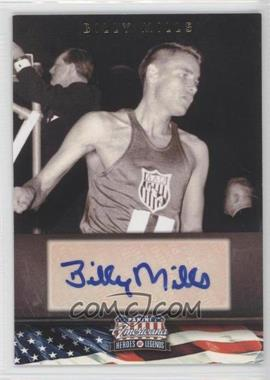 2012 Panini Americana Heroes & Legends Elite Signatures [Autographed] #61 - Billy Mills /399