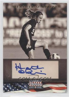 2012 Panini Americana Heroes & Legends Elite Signatures [Autographed] #96 - Heather O'Reilly /179