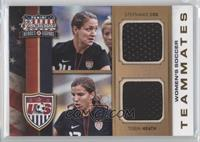 Stephanie Cox, Tobin Heath /99