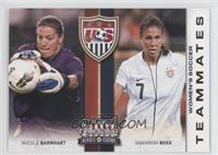 Nicole Barnhart, Shannon Boxx