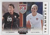Abby Wambach, Heather Mitts
