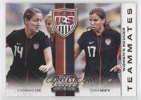Stephanie Cox, Tobin Heath