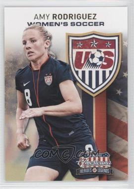 2012 Panini Americana Heroes & Legends US Women's Soccer Team #5 - Amy Rodriguez