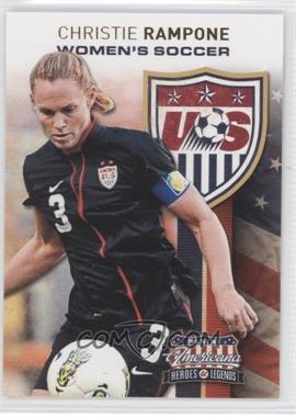 2012 Panini Americana Heroes & Legends US Women's Soccer Team #8 - Christie Rampone