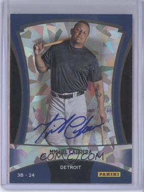 2012 Panini Black Friday - [Base] - Cracked Ice Autographs [Autographed] #19 - Miguel Cabrera