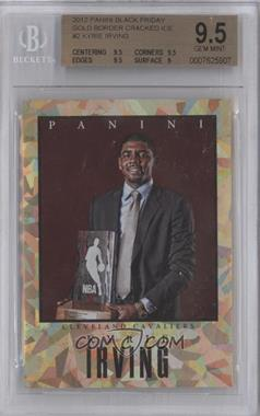 2012 Panini Black Friday - Elite Series - Cracked Ice #NoN - Kyrie Irving /25 [BGS9.5]