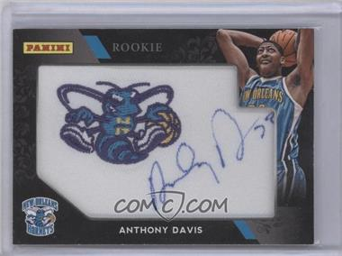 2012 Panini Black Friday Maunfactued Patch Autographs #AD - Anthony Davis