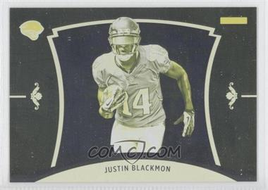 2012 Panini Black Friday Progressions Yellow #49 - Justin Blackmon