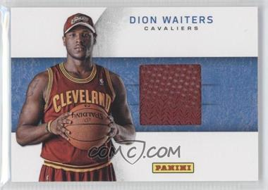 2012 Panini Black Friday Rookie Hat Relics #20 - Dion Waiters