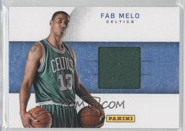 2012 Panini Black Friday Rookie Hat Relics #25 - Fab Melo