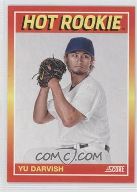 2012 Panini Fall Expo - Score Hot Rookies #16 - Yu Darvish /399