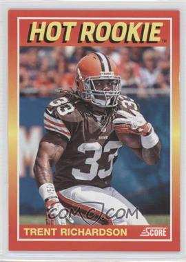 2012 Panini Fall Expo Score Hot Rookies #9 - Trent Richardson /399