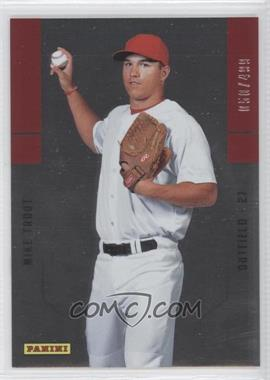 2012 Panini Father's Day Rookies #9 - Mike Trout /499