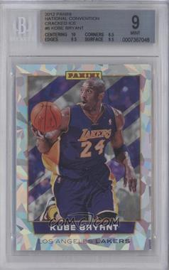 2012 Panini National Convention Cracked Ice #6 - Kobe Bryant [BGS 9]