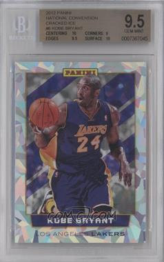 2012 Panini National Convention Cracked Ice #6 - Kobe Bryant [BGS 9.5]