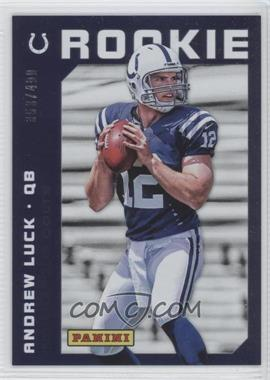 2012 Panini National Convention #21 - Andrew Luck /499