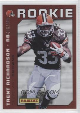 2012 Panini National Convention #23 - Trent Richardson /499