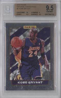 2012 Panini National Convention #6 - Kobe Bryant [BGS 9.5]