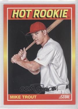 2012 Panini Toronto Fall Expo Score Hot Rookies #13 - Mike Trout /399