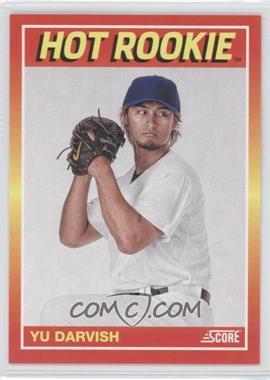 2012 Panini Toronto Fall Expo Score Hot Rookies #16 - Yu Darvish /399