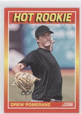2012 Panini Toronto Fall Expo Score Hot Rookies #18 - Drew Pomeranz /399