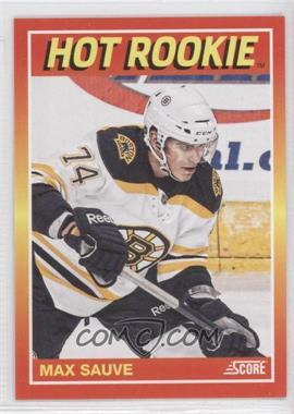 2012 Panini Toronto Fall Expo Score Hot Rookies #4 - Max Sauve /399