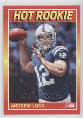 2012 Panini Toronto Fall Expo Score Hot Rookies #7 - Andrew Luck /399