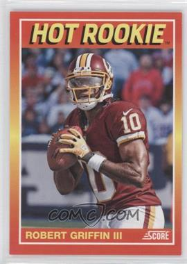 2012 Panini Toronto Fall Expo Score Hot Rookies #8 - Robert Griffin III /399