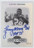Lenny Moore /75