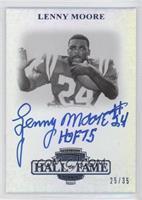 Lenny Moore /35