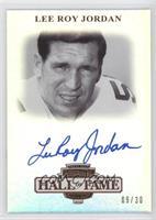 Lee Roy Jordan /30