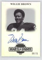 Willie Brown /75