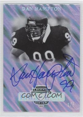 2012 Press Pass Legends Hall of Fame Edition Satin Holofoil #LG-DH - [Missing] /5