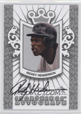 2012 Sportkings Series E - Autograph - Silver #A-RH1 - Rickey Henderson /30