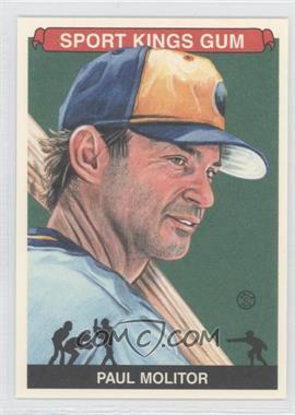 2012 Sportkings Series E - [Base] - Premium Back #214 - Paul Molitor