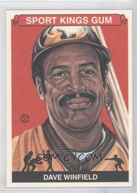 2012 Sportkings Series E - [Base] - Premium Back #217 - Dave Winfield